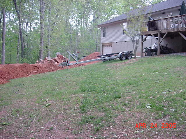 Image gallery leveling yard for How to level a house